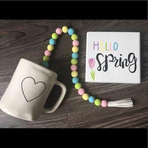 Easter & Spring Bead Garland